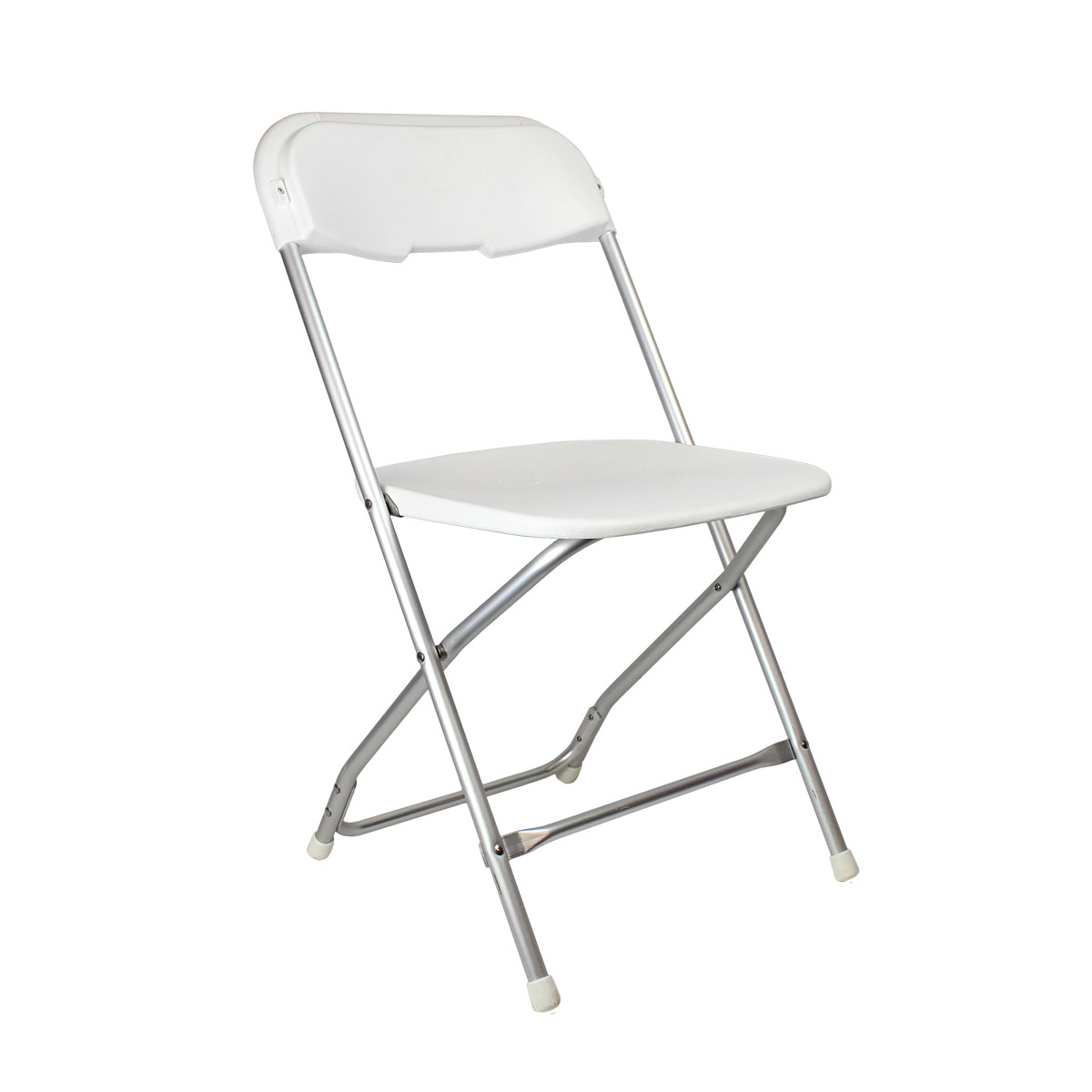 Chair White Plastic Folding