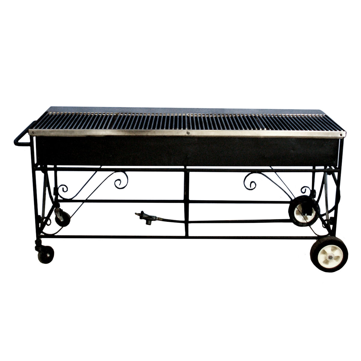 Propane Grill #1 2 x 5 with lava rocks and 20lb Propane Tank