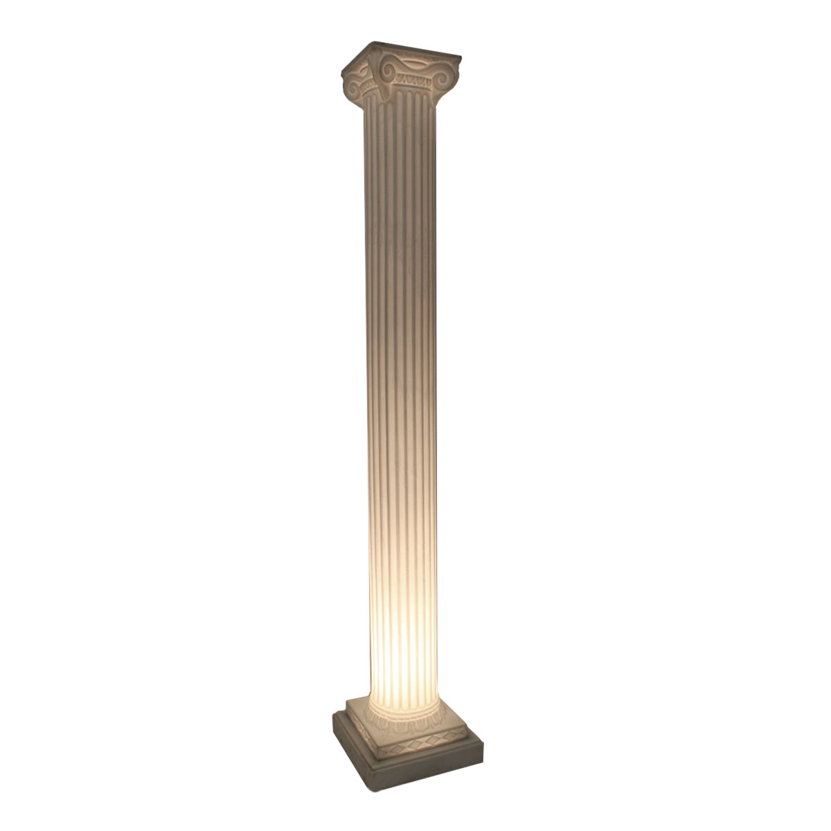 Light Base For Columns