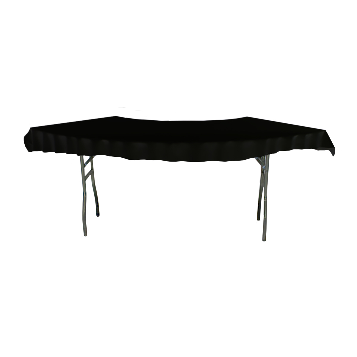 Serpentine Tablecover Top Black
