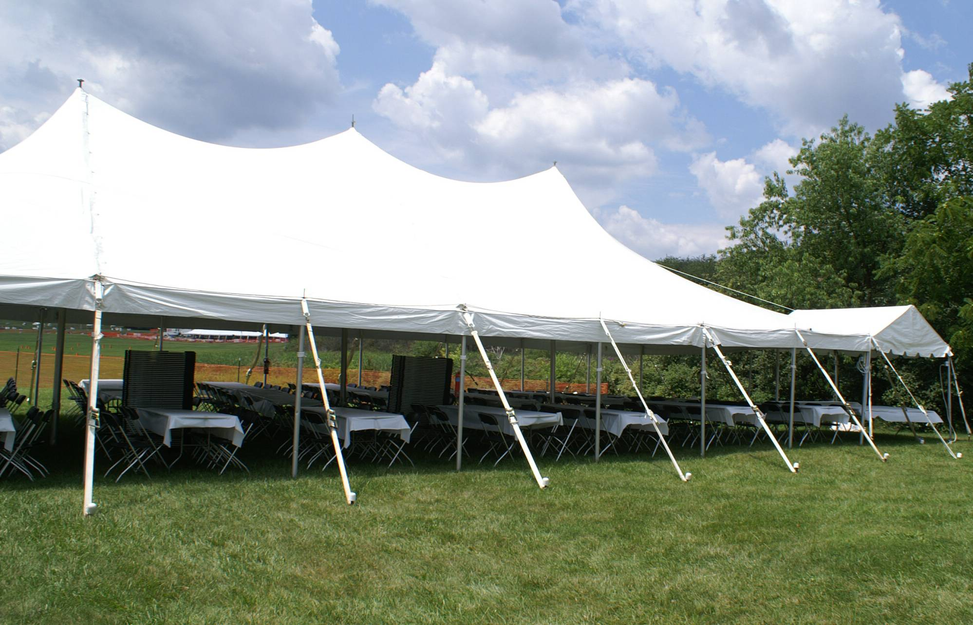 30' Wide Pole Tents