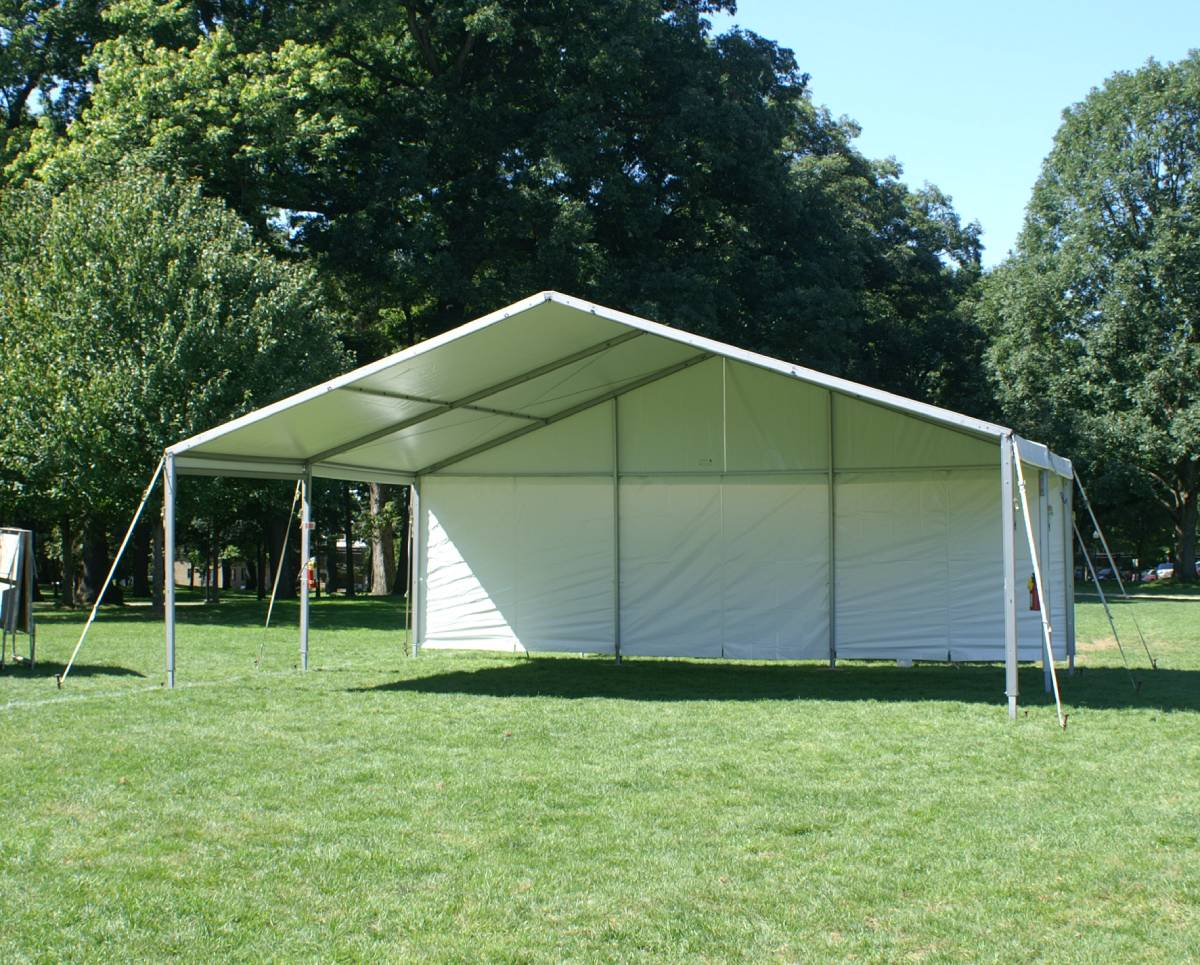 30x20 Losberger Frame Tent Band Shell