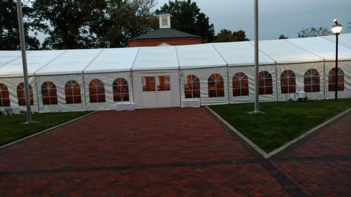 40x100 Losberger Tent With Tent Doors