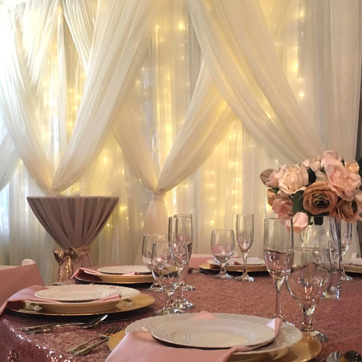 Sheer Drape Backdrops