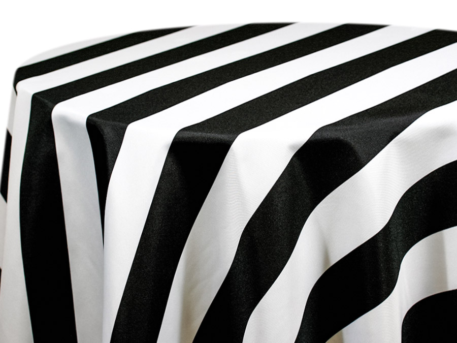 Black & White Cabana Stripe