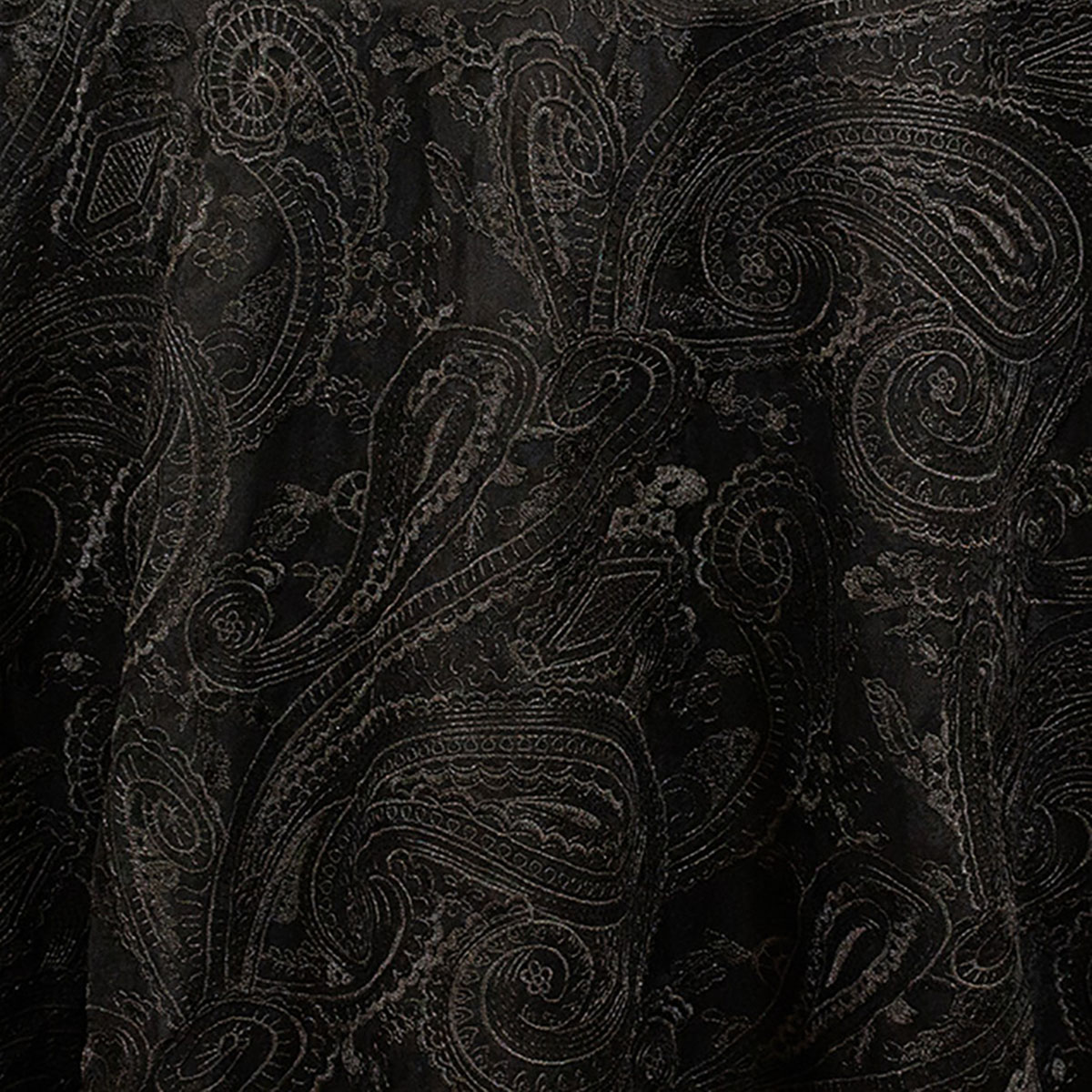Black Paisley Lace