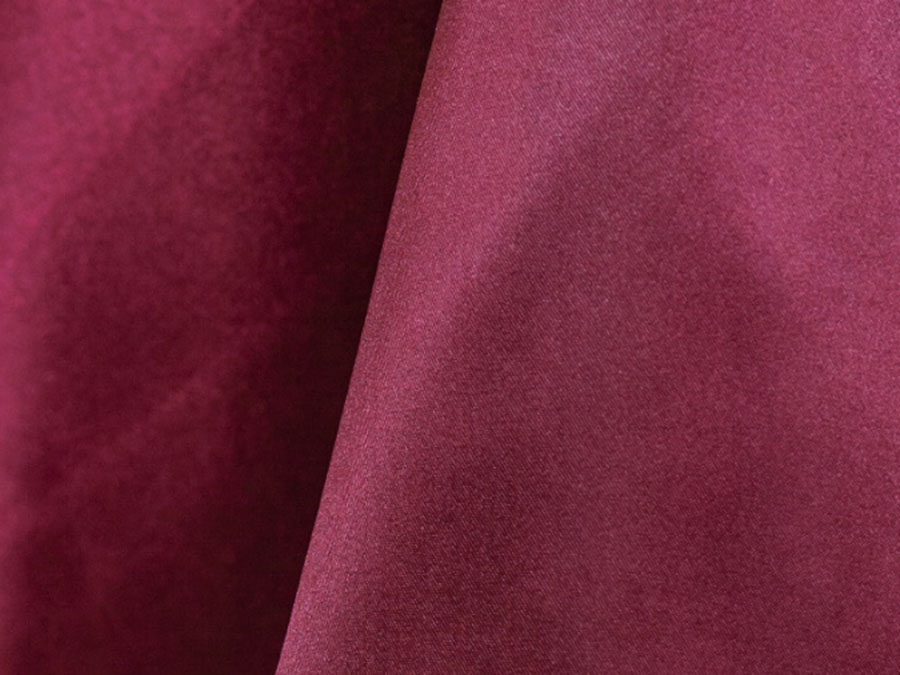 Burgundy Poly Satin
