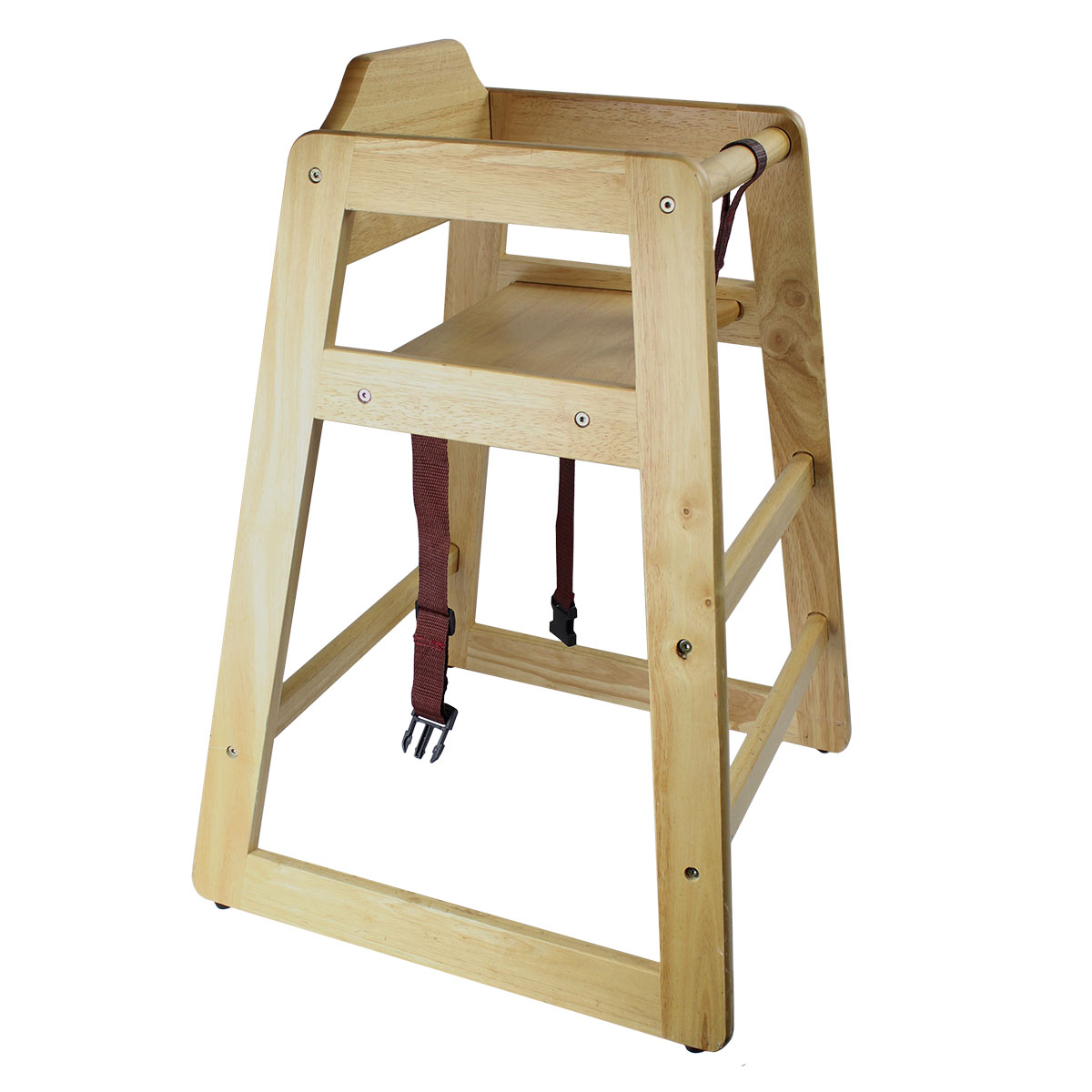 Wood Trayless Highchair