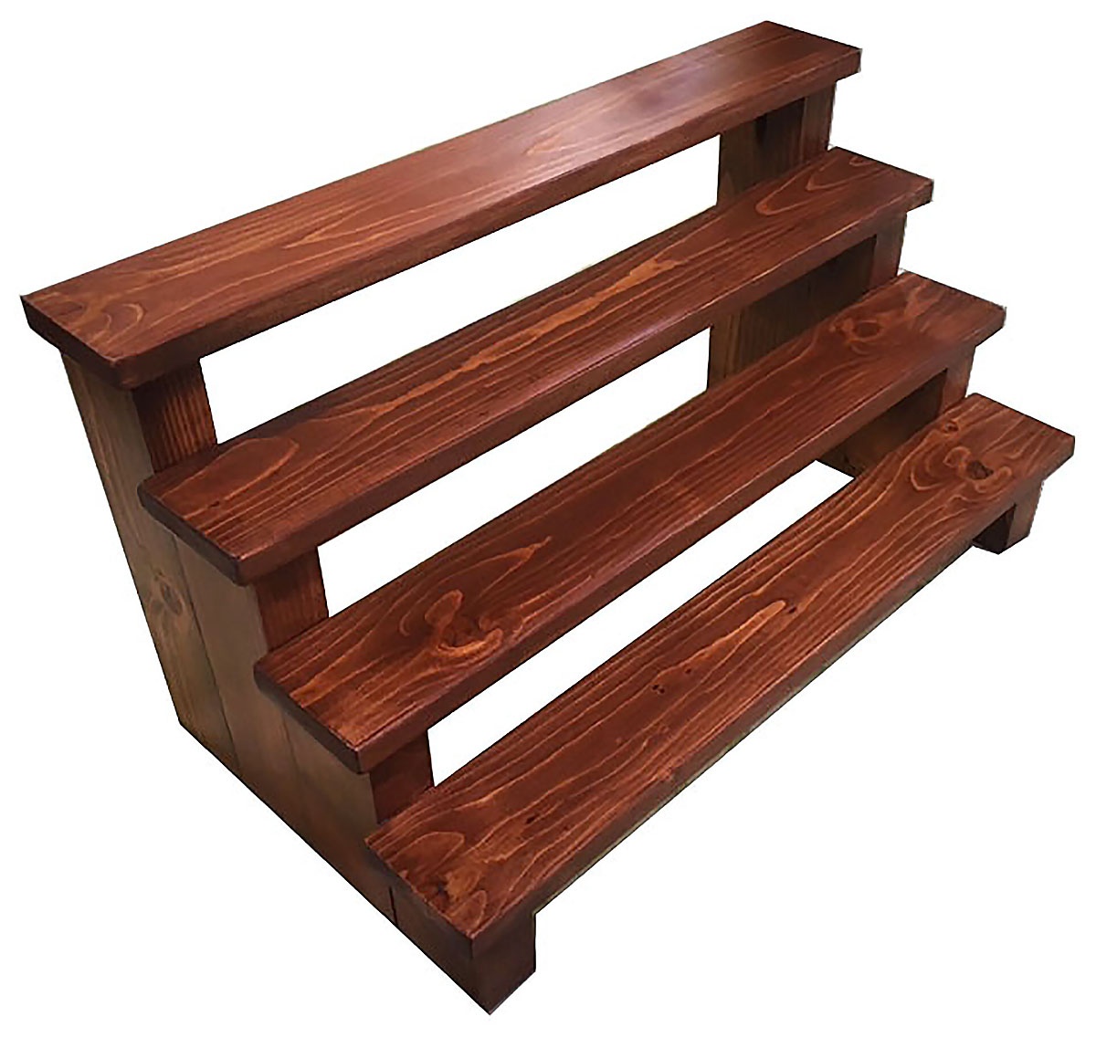 Small Wood 4 Shelf Dessert Stand